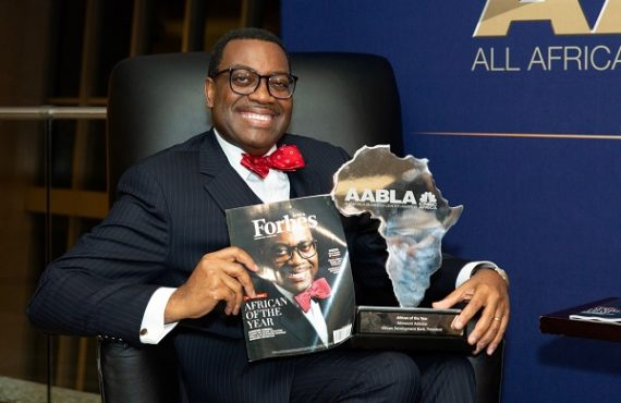 Akinwumi Adesina named Forbes Africa's 2019 'African of the Year'