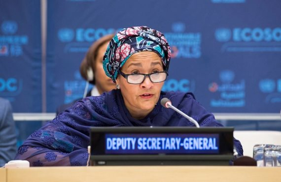Amina Mohammed makes Forbes' '100 most powerful women in 2019'…