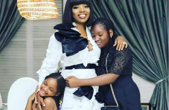 'You're my goodluck charm' — Annie Idibia celebrates daughter on…