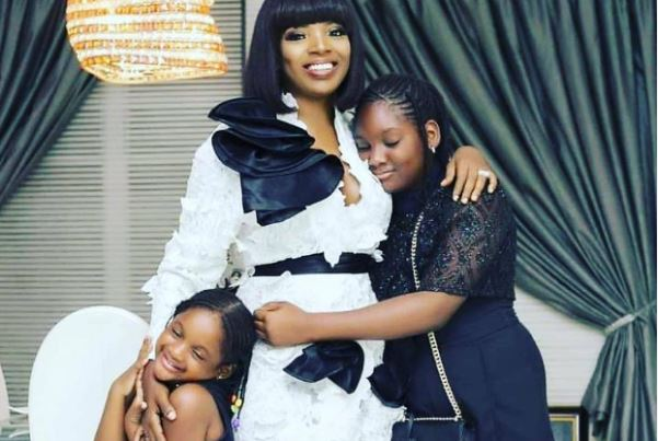 'You're my goodluck charm' -- Annie Idibia celebrates daughter on 11th birthday