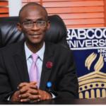 Ademola Tayo, VC Babcock University