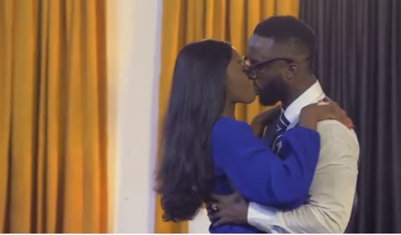 WATCH: BBNaija's Diane kisses Iyanya in 'The Therapist' trailer