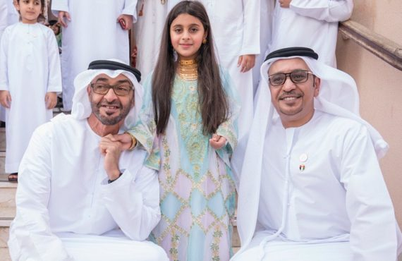 TRENDING VIDEO: Abu Dhabi's crown prince visits little girl's home…