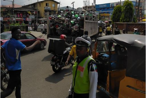 Outrage as Twitter user shares photo of impounded Opay bikes