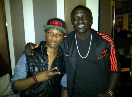 MI fumes as Akon calls Wizkid 'my little bro'