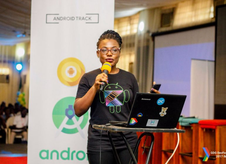 Meet Adeyemi, Nigerian lady who built Android watch that tells time in Yoruba language