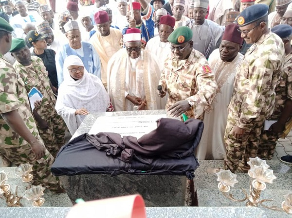 Buratai inaugurates science faculty complex for Nigerian Army University