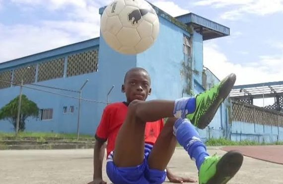 SPOTLIGHT: Meet Eche, 11-year-old Nigerian football freestyler who set Guinness…