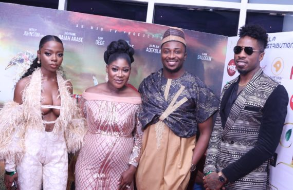 PHOTOS: Denrele Edun, AY, Diane Russet dazzle at 'The Legend…