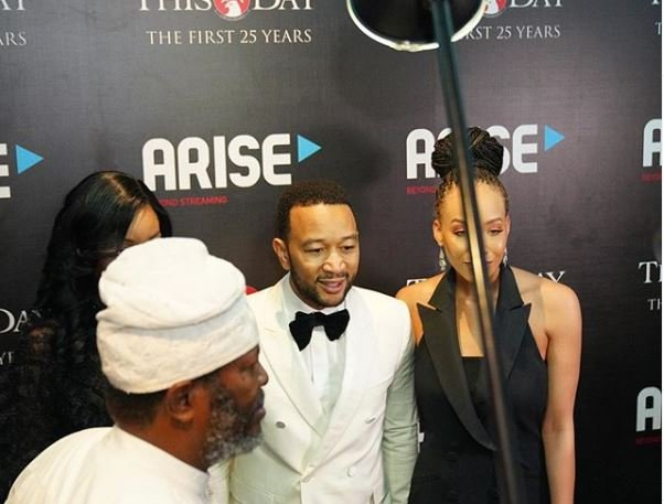 John Legend thrills fans at Thisday's 25th anniversary