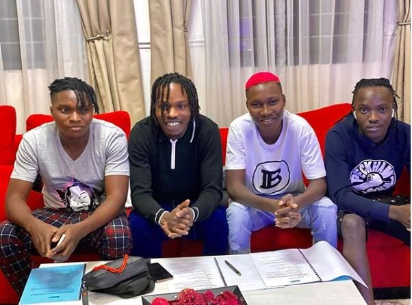 Naira Marley signs four artistes to his new label 'Marlian Records'