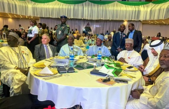 PHOTOS: Malami, Dolapo Osinbajo attend 10th anniversary of Bagudu wife's…