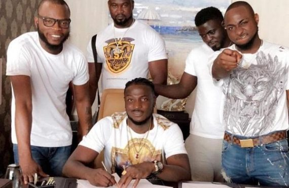 outrage as record label CEO accuses Davido, Peruzzi of betrayal