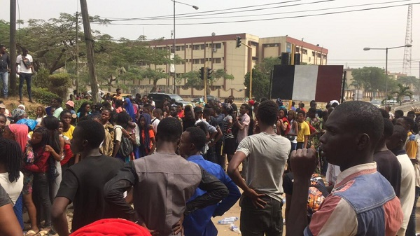 Image result for JAMB applicants still throng NIMC office after suspension of NIN