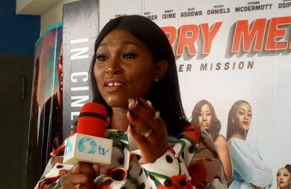 Ufuoma McDermott: 'Merry Men 2' most challenging movie of my…
