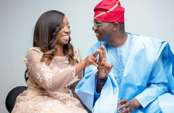 'She's a rare gem' — Sanwo-Olu celebrates wife on 53rd…