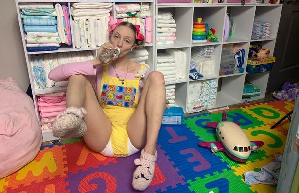 PHOTOS: Meet Paigey Miller, 25-year-old woman who wears nappies for…