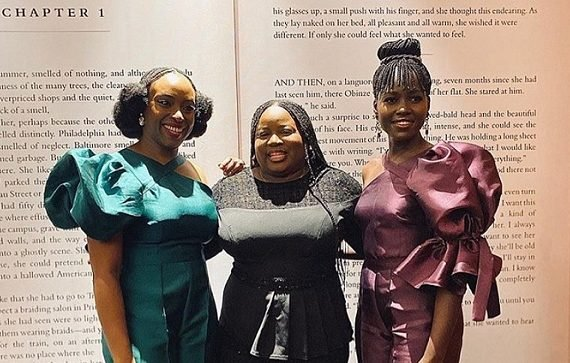 Lupita Nyong'o visits Lagos for Chimamanda's 'Americanah' — after win…