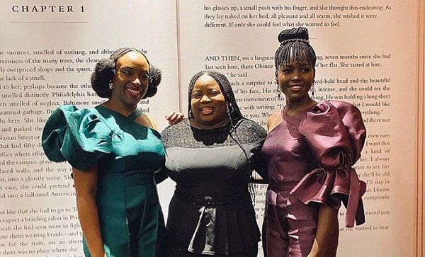 Lupita Nyong'o visits Lagos for Chimamanda's 'Americanah' -- after NAACP award win