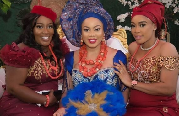 PHOTOS: BBNaija's Nina holds traditional wedding ceremony in Imo