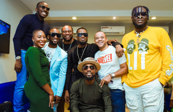 PHOTOS: Don Jazzy, D'banj, Falz… celebrities attend Trace's new office…