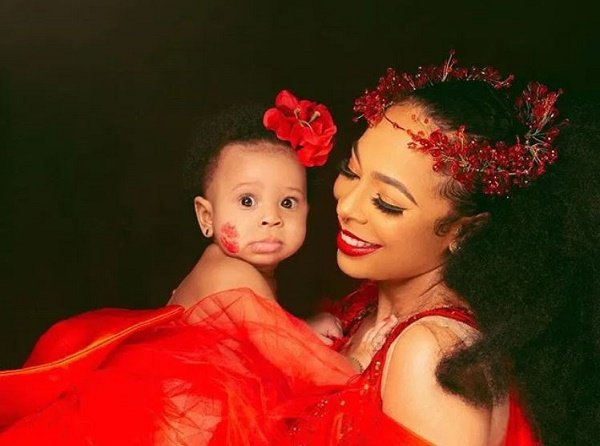 BBNaija's Tboss lays curses on troll who called her baby 'ugly'