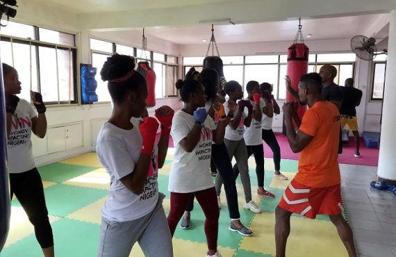 Women learn self-defence against violence, sexual assaults