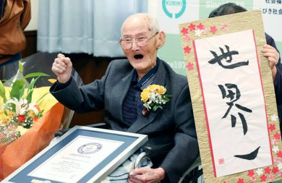 'Just smile, never get angry' ⁠— world's oldest living man…