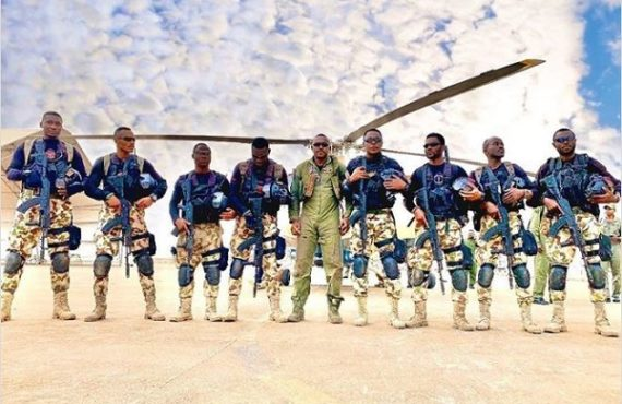 PHOTOS: 'Eagle Wings', Nollywood-military film, premieres in Abuja