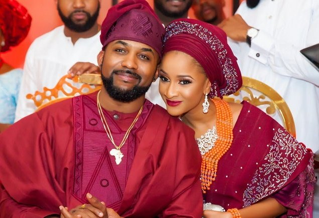 Adesua Etomi celebrates Banky W at 39
