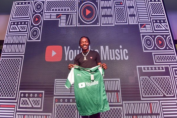 Naira Marley named Nigeria's most-viewed artiste on YouTube for 2019