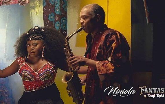 WATCH: Niniola enlists Femi Kuti in 'Fantasy' visuals