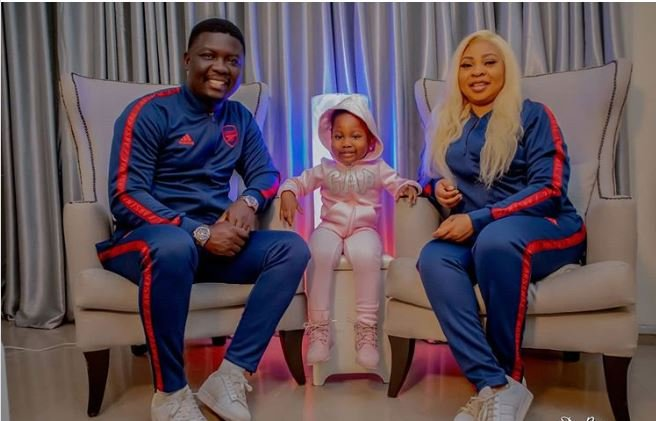 Seyi Law marks wedding anniversary with wife