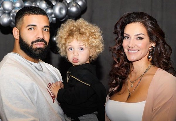 Drake shares first pictures of son Adonis