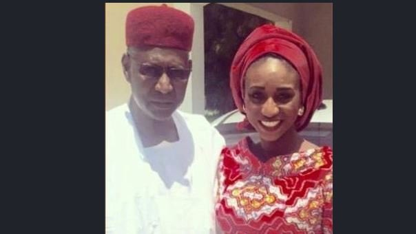Abba Kyari's daughter hits back at critics