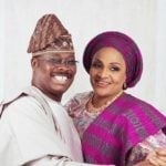 I forgave your dad when he cheated on me, Ajimobi's wife tells daughter