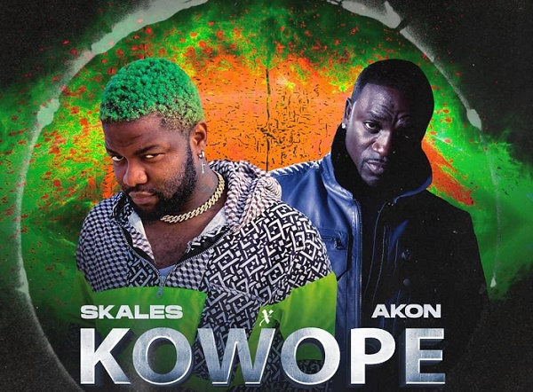 DOWNLOAD: Akon, Skales join forces for 'Kowope'