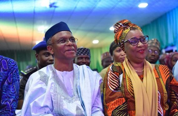 I'm not part of el-Rufai's government, says wife