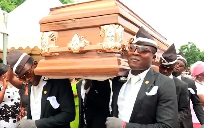 How Ghana's pallbearers became a global anti-COVID-19 sensation