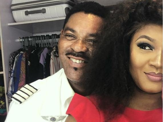 Omotola hails husband on pilots' day