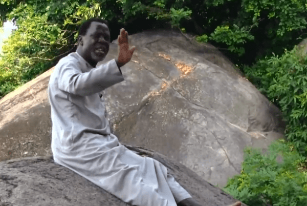 WATCH: TB Joshua visits prayer mountain over COVID-19