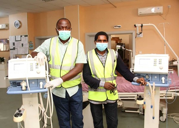 Atiku hails engineers who fixed faulty ventilators at JUTH