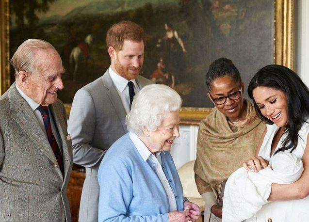 Wishes from royal family as Meghan, Harry's son marks first birthday