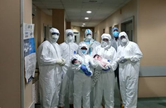 22-year-old COVID-19 patient delivers twins at LUTH