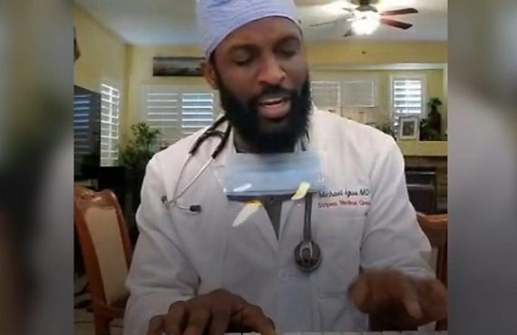 EXTRA: Meet US-based Nigerian doctor using Igbo songs to help COVID-19 patients relax