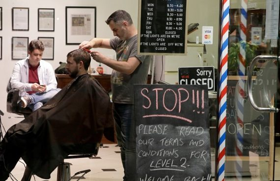 Midnight queues as New Zealand barbers reopen — after 3…