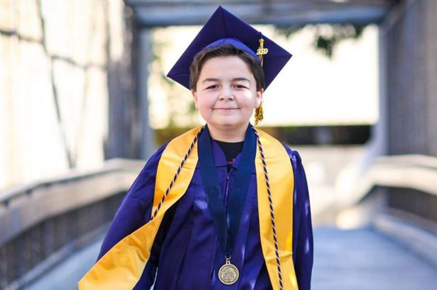 SPOTLIGHT: Meet the 13-year-old boy who graduated from college with four associate degrees