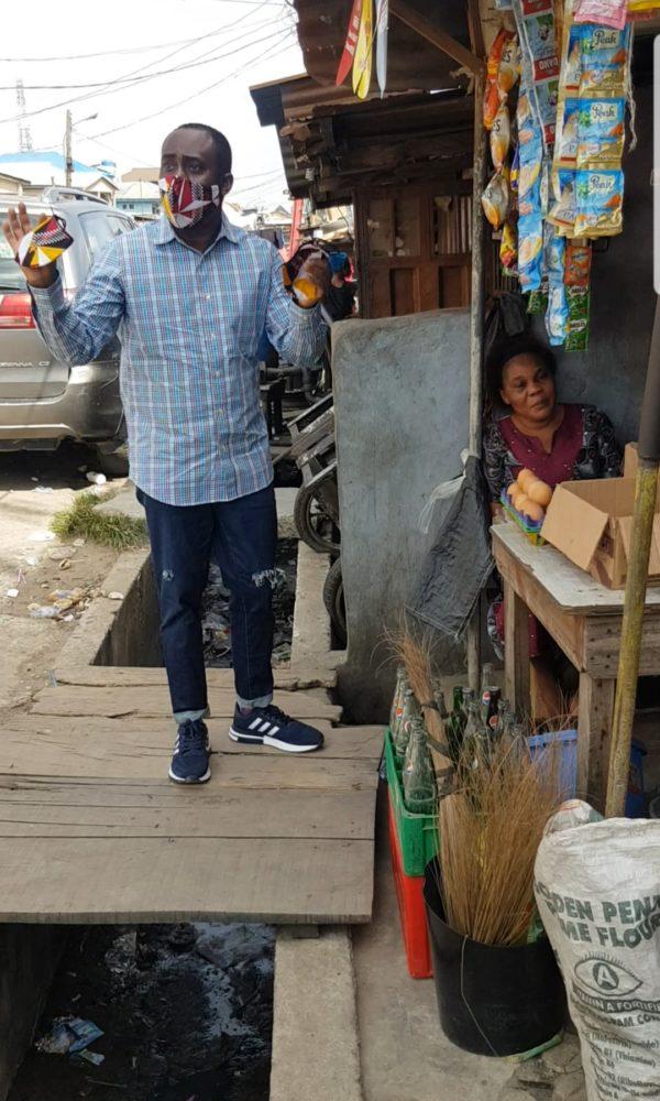 Maskup Lagos initiative
