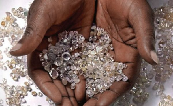 Africa is rich in diamonds