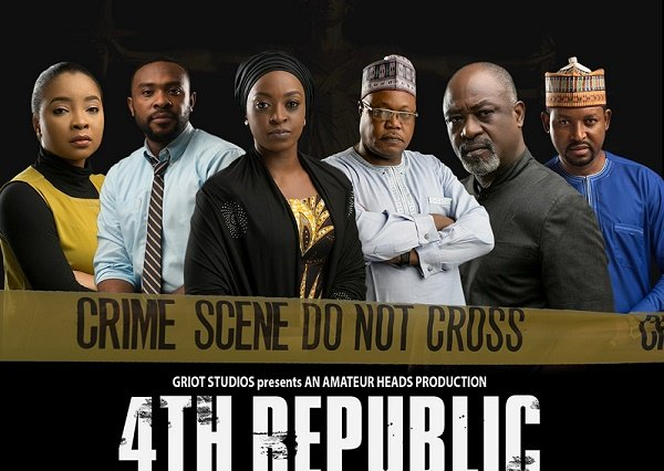 '4th Republic', movie on Nigerian democracy, to premiere on Netflix June 13